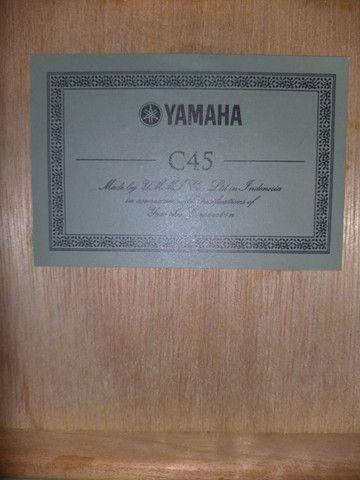 Violão Yamaha C45 - Foto 4