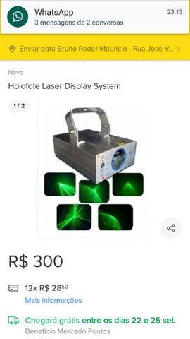 Laser show system vendo ou troco  - Foto 3
