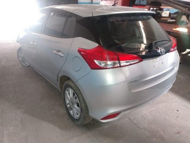 Toyota yaris xl plus tec 1.3 16v cvt 2019 sucata