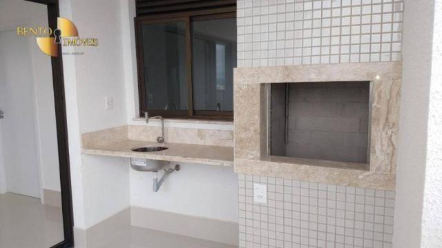 ED ROYAL PRESIDENT - Apartamento com 4 dormitórios à venda, 237 m² por R$ - Bosque - Cuiab - Foto 18