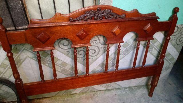 Cabeceira de cama antiga