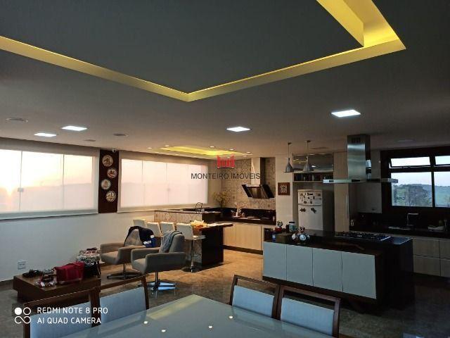 Exclusiva Casa moderna com 4 quartos sendo 3 suítes no Condomínio Alphaville Vespasiano - Foto 8