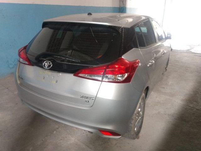 Toyota yaris xl plus tec 1.3 16v cvt 2019 sucata - Foto 2