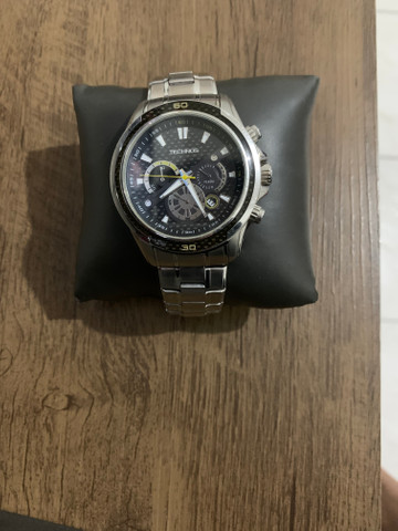 Relógio Technos Performance Sports Carbon JS26AC/1P 47mm - Prata