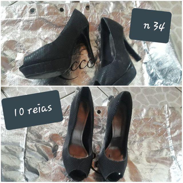 Vendo sapatos bons n 34 36 38 39 40 - Foto 2
