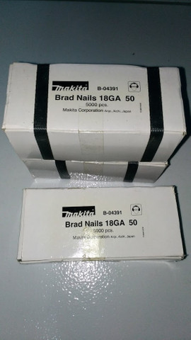 Pinos 18ga para Pinador Makita original, caixas com 5000 unidades - Foto 5