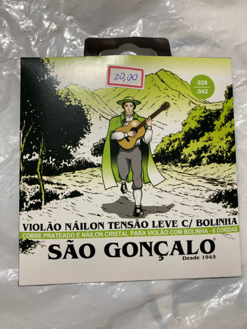 Corda violão nylon São Gonçalo tensão leve  - Foto 2