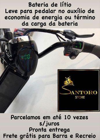 Bicicleta Elétrica parcelamos sem juros - Foto 2