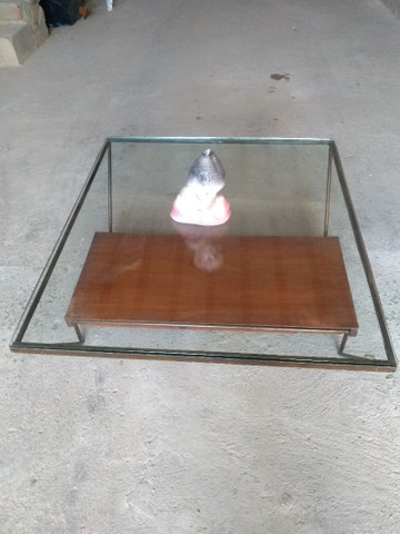 Mesa de centro de vidro semi-nova - Foto 5