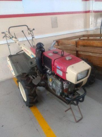 Micro trator yanmar tc 14