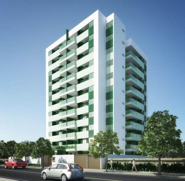 O Amplo 3/4 Varanda Novo/Pronto +DPE Com 109 m² Moderno-Melhor Localização da Jatiuca - Foto 2