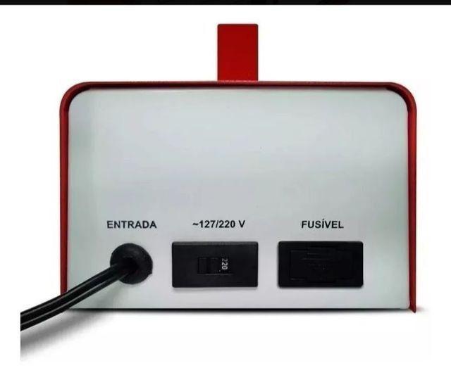 Carregador de bateria automotiva Novos lacrados na caixa - Foto 2