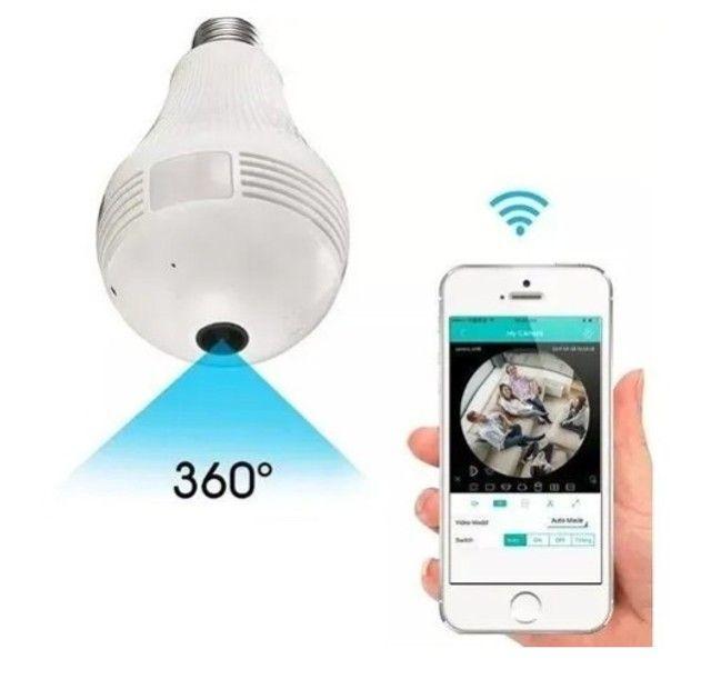 Câmera IP lâmpada  - Foto 2