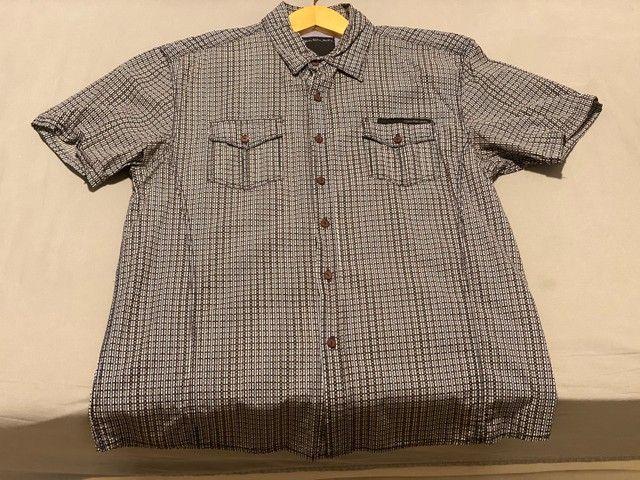 Camisa de botão Calvin Klein