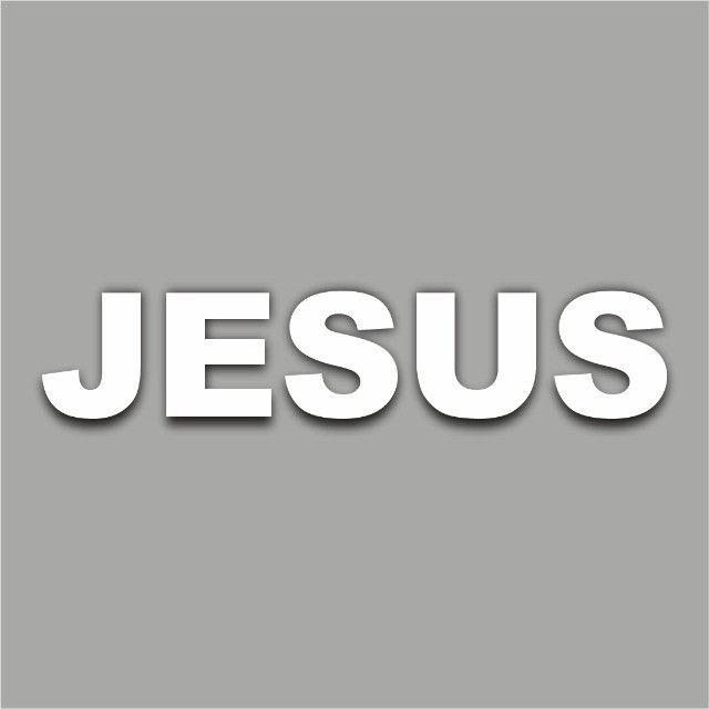 Letras Jesus Em Isopor Letra Caixa 3d 20 Cm Igreja Altar