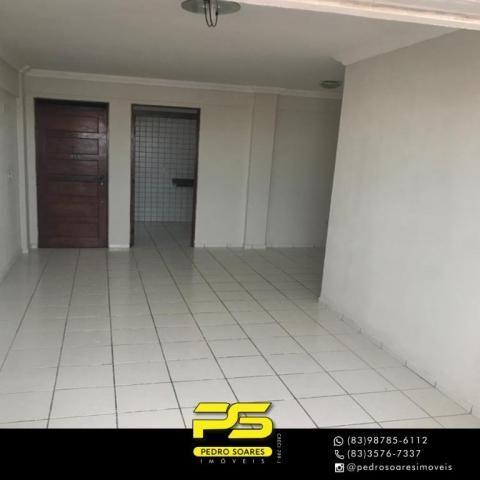 Apartamento com 3 dormitórios à venda, 90 m² por R$ 300.000 - Jardim Cidade Universitária  - Foto 2