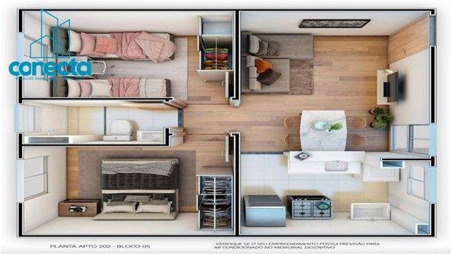 Residencial Mata dos Sabiás - 164.490,00  - Apartamentos de 2 quartos no Petrópolis - Foto 16