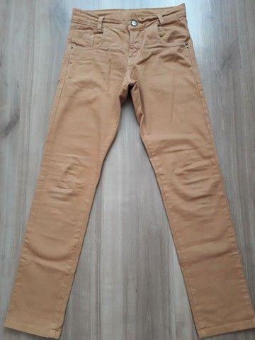 Calça jeans infantil tam 8 - Foto 4