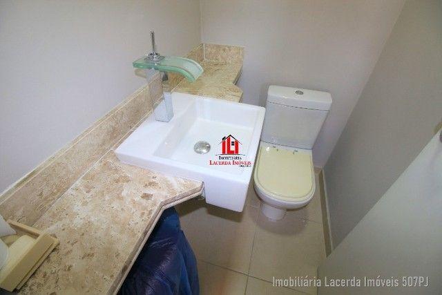 Apartamento 3 suítes, 134m², Andar Alto, Financia, Varanda Churrasqueira - Foto 8