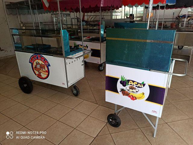 Food Bike, Carrinho de Açaí e Hot dog - Foto 6