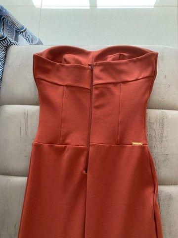 Vestido de festa longo com fenda lateral - Foto 4