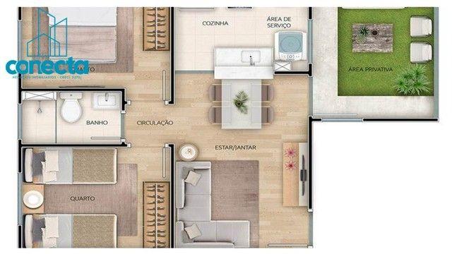 Residencial Mata dos Sabiás - 164.490,00  - Apartamentos de 2 quartos no Petrópolis - Foto 17