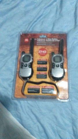 Radio comunicador Motorola novo na caixa  - Foto 2
