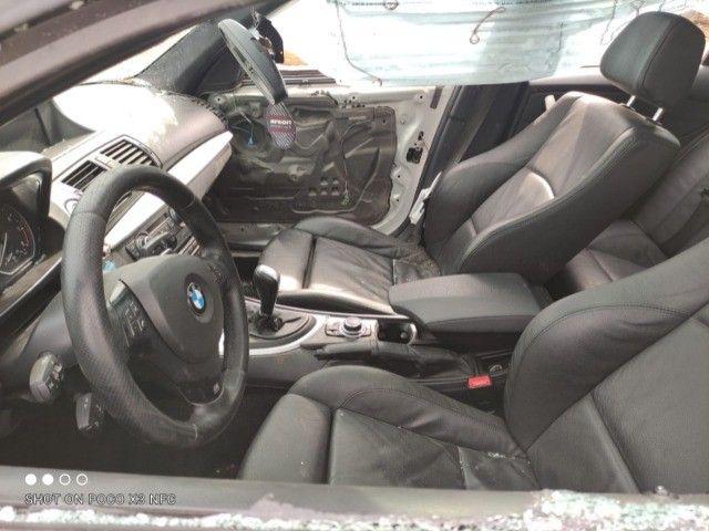 Sucata BMW 130i 24V 2011 Sport (automática) - Foto 8