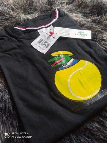 camiseta malha peruana em atacado  - Foto 6