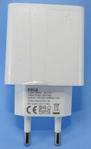 Carregador 20W USB-C (Carregamento rápido) - Foto 2