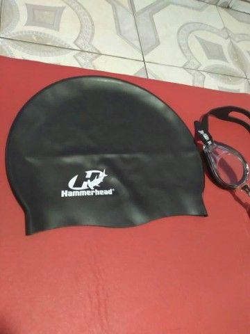 Toca e óculos de mergulho - Foto 4