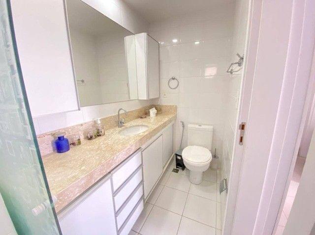 AB142 - Apartamento com porcelanato/02 suítes/projetados - Foto 4