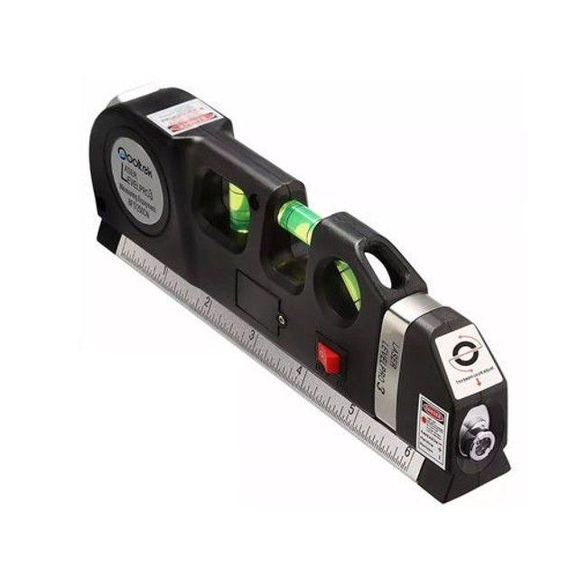 NOVO! Nível a Laser Profissional com Trena - Foto 3