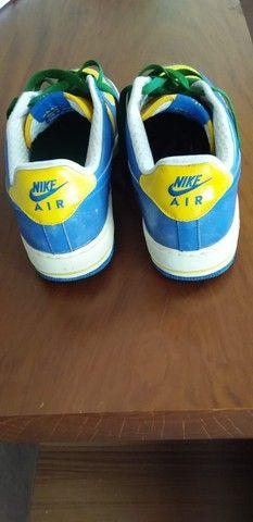 Nike - Air Force 1 - Série limitada - Seleção Brasileira de Futebol. - Foto 3