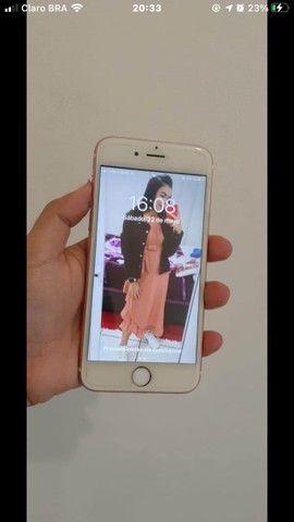 iPhone 6s 16gb , seminovo , barato , tudo funcionando perfeitamente, bateria 100% ? - Foto 2