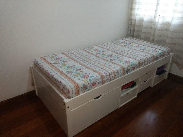 cama solteiro infantil.  - Foto 3