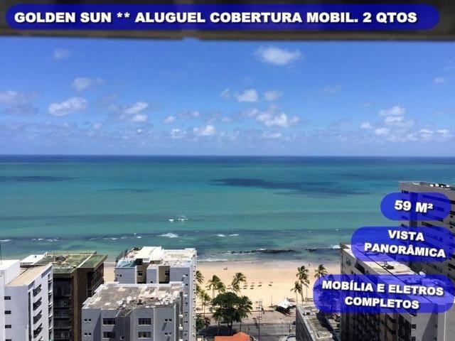 Cobertura mobiliada c 2 qtos em Boa Viagem ao lado da praia, Pizza Hut, Hospital Portugues