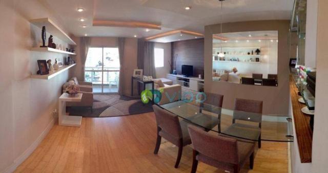 Vila Romana - Apartamento 2 Dormitórios com Sala Ampliada e Suite 2 Vagas - Mobiliado e De
