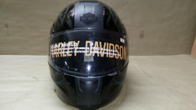 Capacete escamoteável, original Harley Davidson com Dot - Foto 6