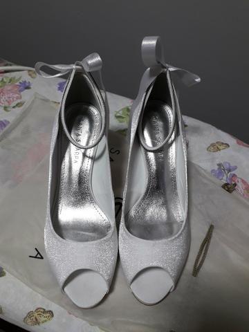519c2a724ab75 Sapato para Noiva - Santa Scarpa - Seminovo - Roupas e calçados ...