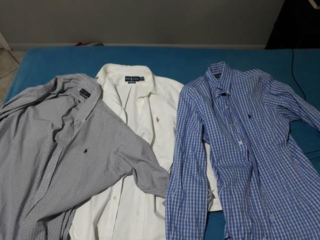 10875c325f Camisa Social Slim Nova vários modelos nos tamanhos P