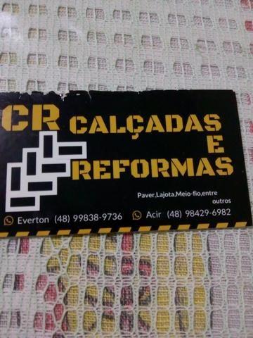 CR calçadas e reformas