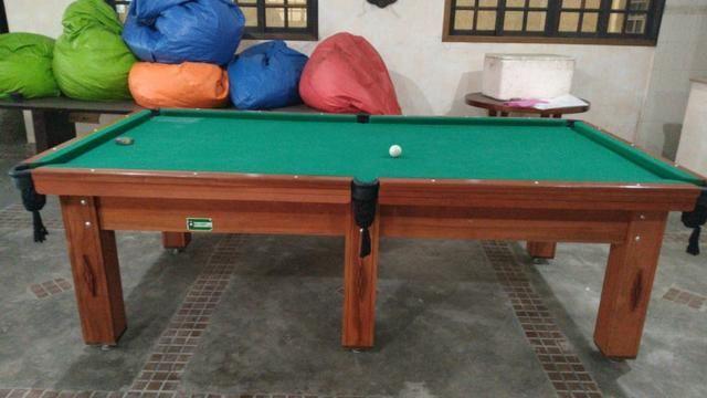 Mesa de Bilhar/ Sinuca