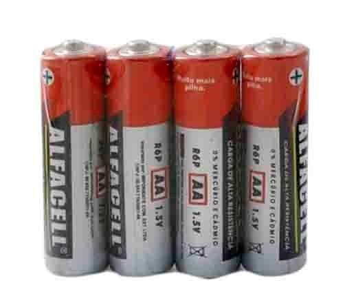 4 Pilhas Novas AA Alfacell por apenas 2 reais - Vendo qualquer quantidade - Foto 3