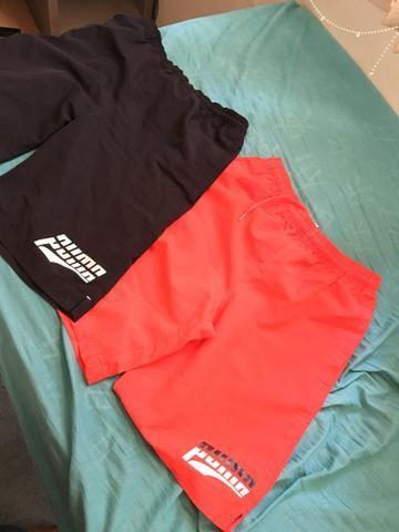 Shorts puma original, e outros