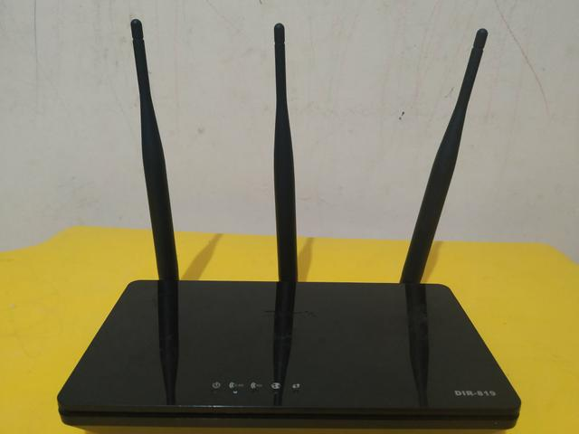 Roteador d-link 3 antenas 750Mbps