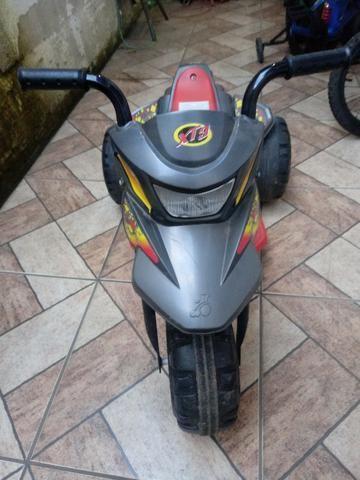 Moto elétrica!