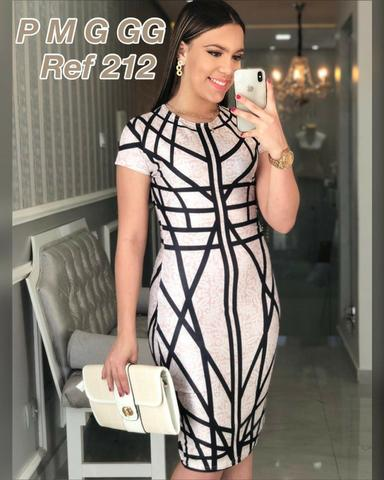 Moda padrão vestidos evangelico