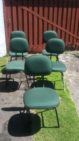 Cadeiras de escritório (5 ud)