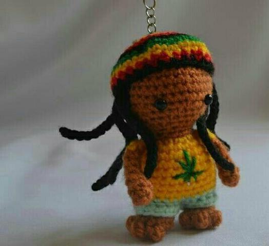 Chaveiro Bob Marley